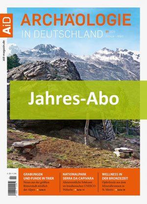 Jahresabonnemnt Archäologie in Deutschland Icon