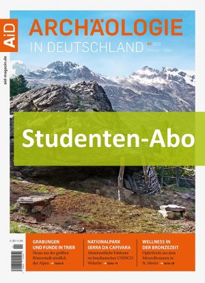 Studentenabonnement Archäologie in Deutschland Icon