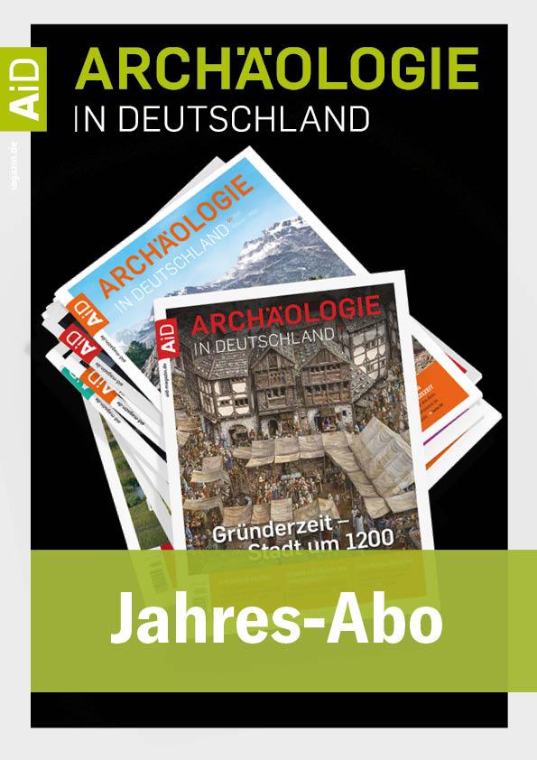 Jahresabonnement Archäologie in Deutschland