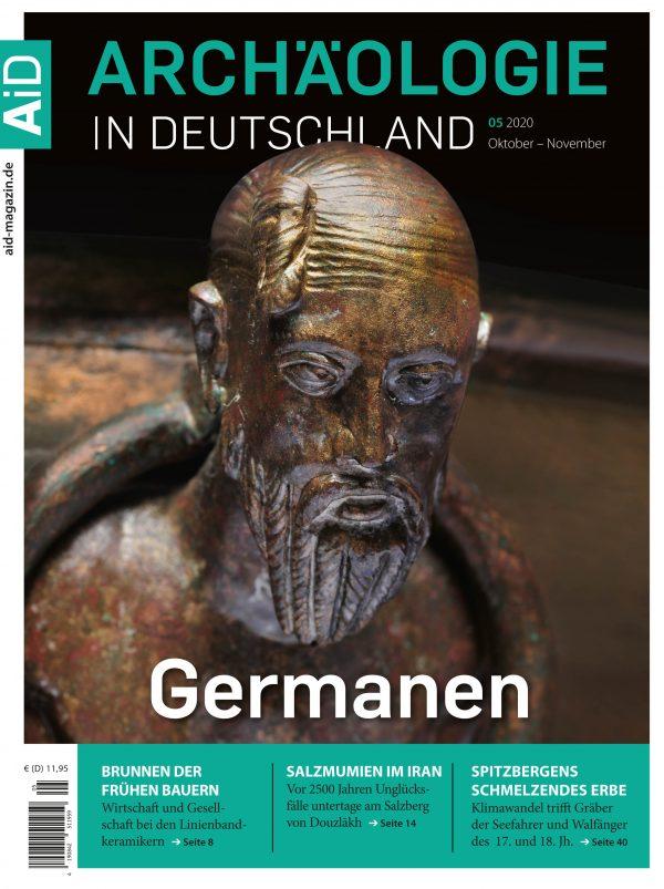 Archäologie in Deutschland Heft 52020 Titelthema Germanen