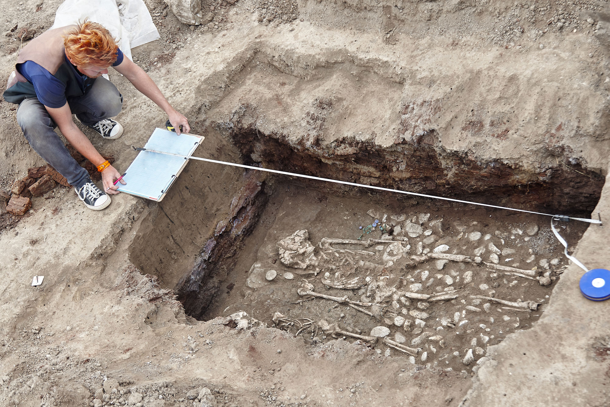 Archaeologische Ausgrabung